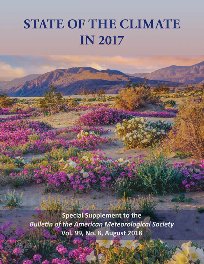 State of the Climate in 2017 Cover Image